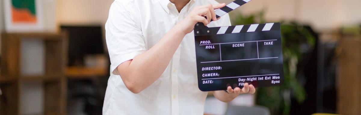 映画の仕事イメージ